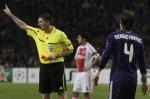 УЕФА вынес наказания тренеру и игрокам «Реала» за поведение в матче с «Аяксом»